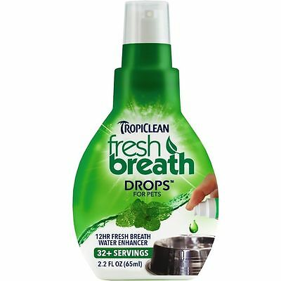 Tropiclean Fresh Breath Drops For Pets