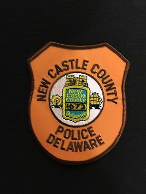 New Castle Delaware  Police  Shoulder Patch