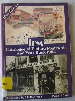 Ipm Postcard Catalogue Of Picture Postcards 1984 10Th Edition -  Ex.cond!!!