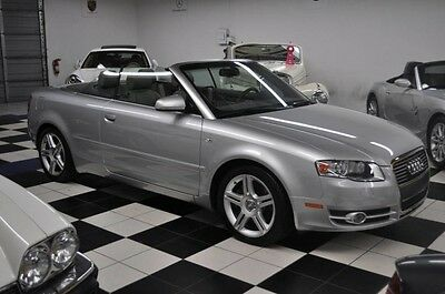 2007 Audi A4 ONLY 25k miles Audi Dealer Serviced! Clean Carfax! CLEAN CARFAX - SERVICED AT AUDI DEALER - LOW 25K MILES - CERTIFIED CARFAX !