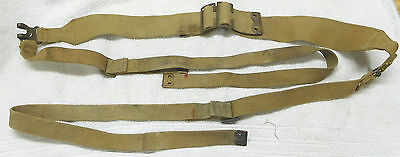 British P37 Web L Strap Set-Canadian Marked