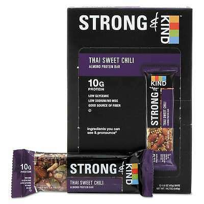 KIND STRONG and KIND Bars, Thai Sweet Chili Almond, 1.6 oz Bar, 1 602652171581