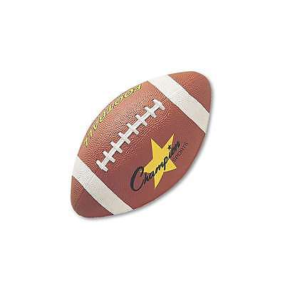 Champion Sports Rubber Sports Ball, For Football, Junior Size, Br 710858008102