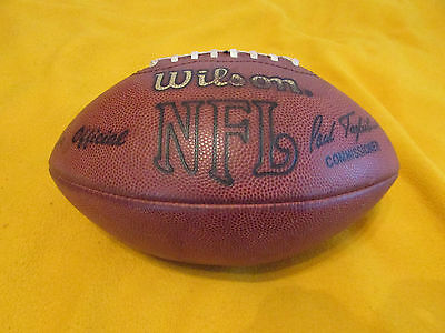 Green Bay Packers Game Used Wilson NFL Football With COA 1989-94 Era