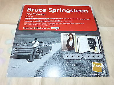 Bruce Springsteen - The Promise!dif!rare French Display