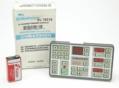 Elinchrom IR-Remote Control Handset For Micro Compact. EL 19319. Useful.