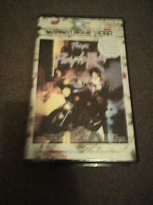 Prince Purple Rain Video Vhs Pal Uk Big Box Pre Cert Warner Bros