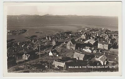 Pin Sharp Mallaig Real Photo in 1930's-53 Old PPC, Unknown Publisher, G.Used