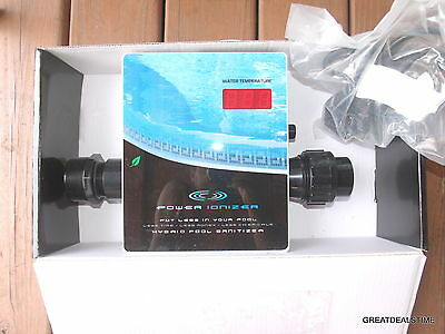 Power Ionizer Swimming Pool Water Sanitizer System by Main Access POOL CLEANER