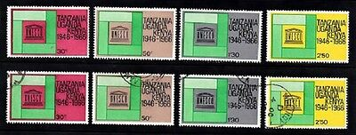 K.U.T. 1966 Unesco Set MM and FU