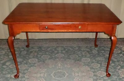 LEXINGTON SOLID CHERRY DINING TABLE Bob Timberlake Handcrafted Two Drawers