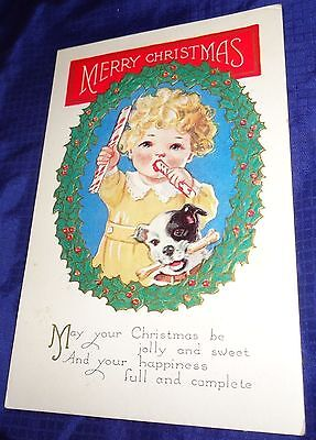 RP1681 Vtg Xmas Card PostCard Clifford ON Harkness