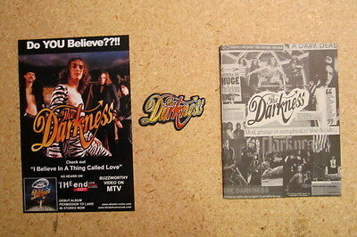 Darkness Lot Patch And Promo Booklet And Handbill Flyer