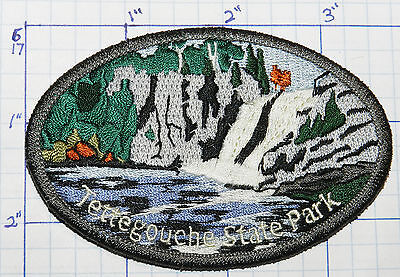 Minnesota, Tettegouche State Park Lake Superior Souvenir Travel Patch