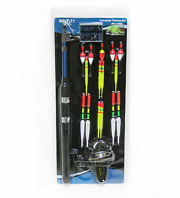 Charles Bentley Beginners 1.6M Fishing Set Kit With Power Drive Gear System
