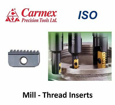 CARMEX ISO- Metric Carbide Mill Thread Insert Threading CNC Milling