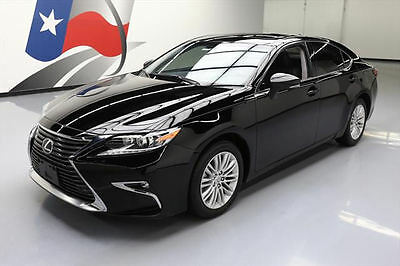 2016 Lexus ES Base Sedan 4-Door 2016 LEXUS ES350 LUX SUNROOF CLIMATE SEATS REAR CAM 28K #217529 Texas Direct