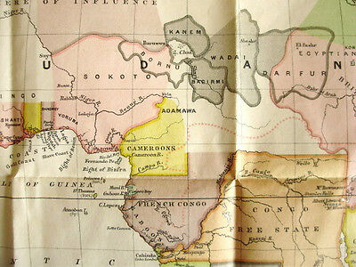 1890 Keltie - THE PARTITION OF AFRICA - With Colour Map - Original Wrappers  11