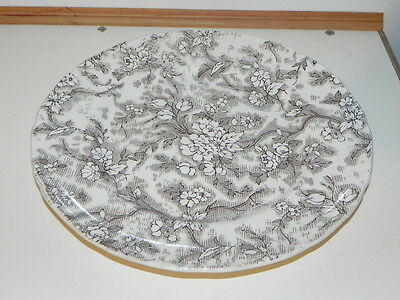 Vintage plate Ridgway of England.. Tapestry Comes with plate holder