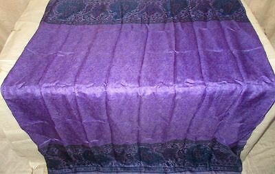 Vintage Sari Saree Fabric Material Pure Silk SMALLPIECE 0.75 YARDS * 1 #ABJFF