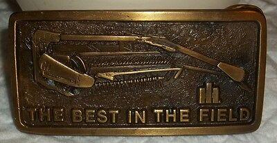 Ih International Harvester Belt Buckle Hayrake The Best In The Field