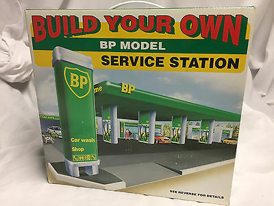 Vintage Bp Model Service Station Build Your Own
