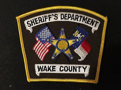 Wake County  North Carolina  Sheriff Shoulder Patch