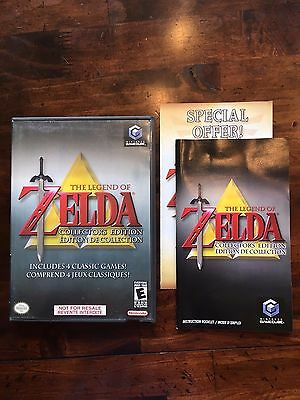 The Legend of Zelda Collector's Edition Nintendo Gamecube