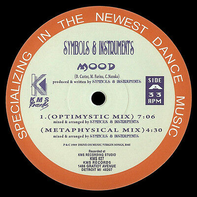 "Symbols & Instruments "" Mood "" New Uk12 Kms Records Kms 027 Deep House Dance"