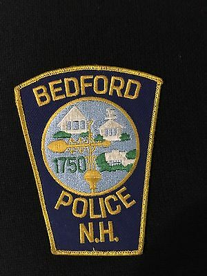 Bedford New Hampshire  Police  Shoulder Patch