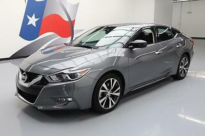 2016 Nissan Maxima  2016 NISSAN MAXIMA 3.5 S NAV REAR CAM BLUETOOTH 26K MI #446191 Texas Direct Auto