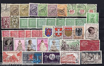 Nice Selection Of Luxembourg    Mint & Used    (1601024)
