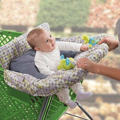 Shopping Cart Cover Baby High Chair Buggy Grocery Seat Highchair Infant Secure
