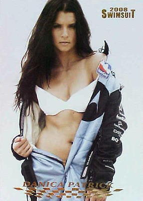 Danica Patrick 2008 SI Swimsuit Chase Insert Card DP-1 Nascar Sports Illustrated