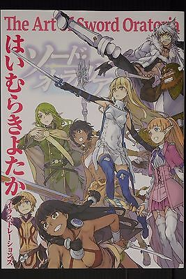 "JAPAN DanMachi: Kiyotaka Haimura Illustrations ""The Art of Sword Oratoria"""