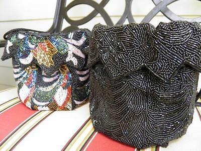 Exquisite Hand Beaded Evening Pouches Made in Hong Kong
