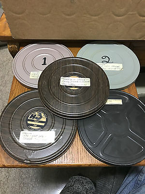 Lot of 5 Vintage 1970's 1980's Super 8 Home Movies & Tins