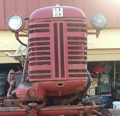 1954 International Harvester Farmall McCormick cultivating tractor
