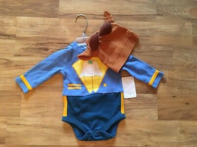 NEW Beauty and BEAST Baby COSTUME 18-24 M Disney Store HALLOWEEN Infant Outfit