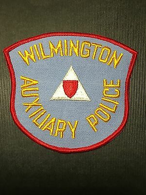 Wilmington Delaware Auxiliary  Police Shoulder Patch Old
