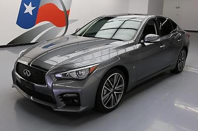 2014 Infiniti Q50  2014 INFINITI Q50 SPORT SUNROOF NAV HTD LEATHER 36K MI #670396 Texas Direct Auto