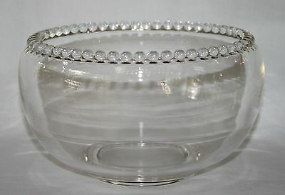 Rare Imperial Candlewick Clear Lily Bowl