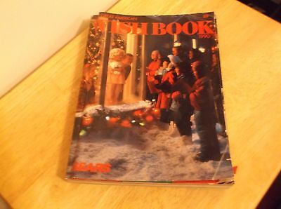 CR) 1990 Sears Wish Book Catalog Video Games Christmas Toys
