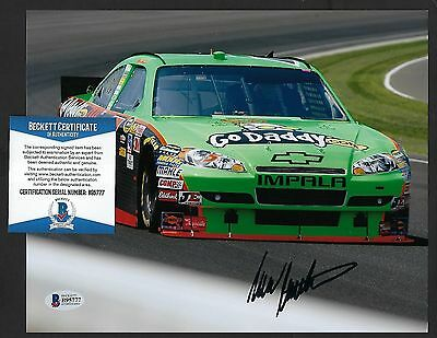 Mark Martin signed 8x10 photograph BAS Authenticated Nascar Champion