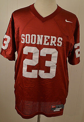 Authentic Nike Oklahoma Sooners Jersey #23 College Football Adult Large Stitched