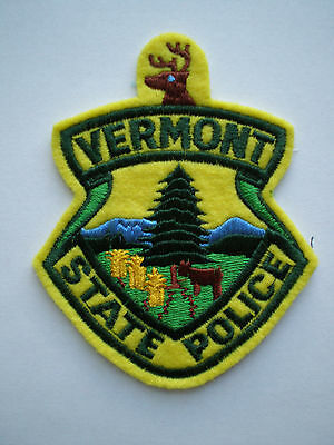 VT Vermont Highway Patrol State Police trooper patch
