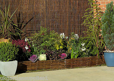 1.2m high Willow Screening / Garden Screen / Fence / Panel