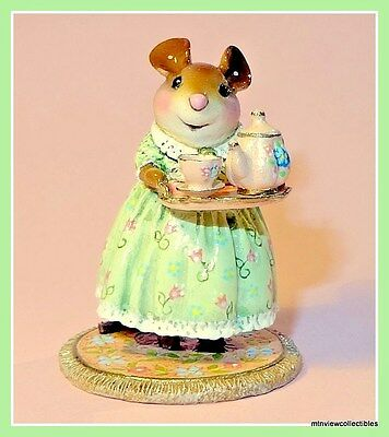 Wee Forest Folk M-594c A Cosy Tea-Limited to 300 only-Signed & Numbered
