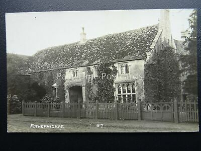 Northamptonshire Oundle FOTHERINGHAY - Old RP Postcard
