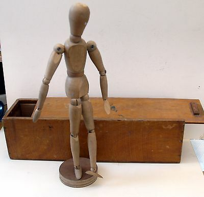 Wooden Lay Figure in box.